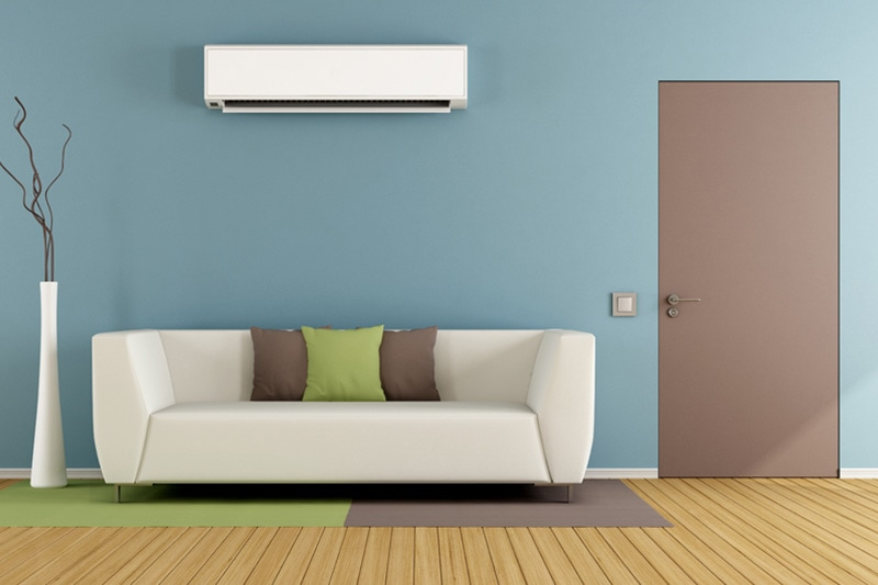 ductless mini split.